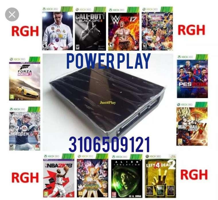 Discos Duros con Juegos Xbox Y Play 3