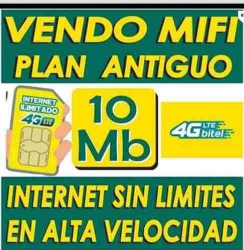 Chip Bitel Mifi Cpe Ilimitado Plan Antiguo 100% ilimitado