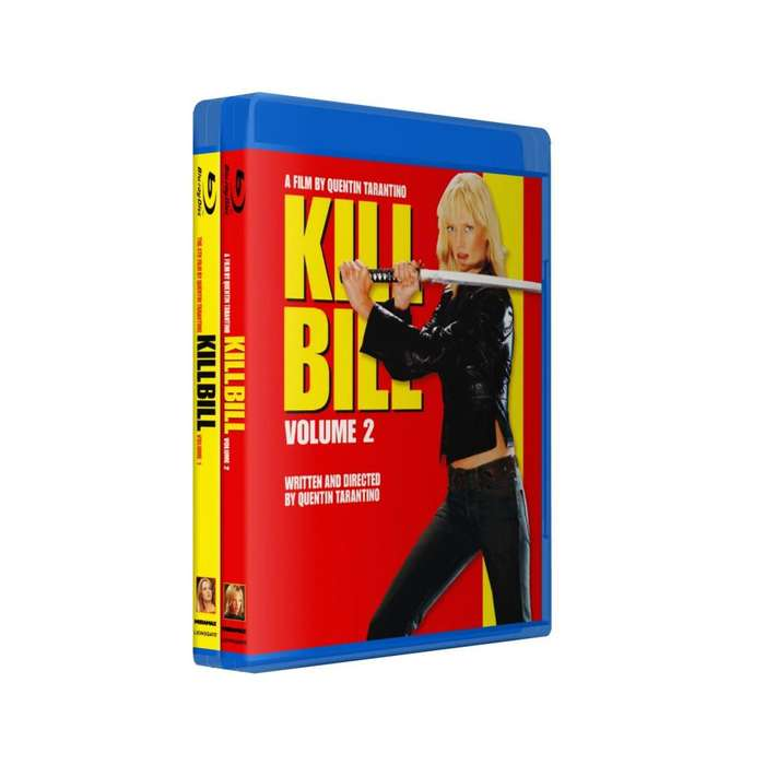 Kill Bill 1 2 Bluray Latino/ingles Subt Español