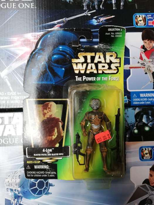 Star Wars The Power Of The Force - 4 - Lom - Figura Kenner