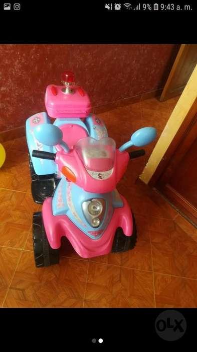 Moto de Baterias para Niña