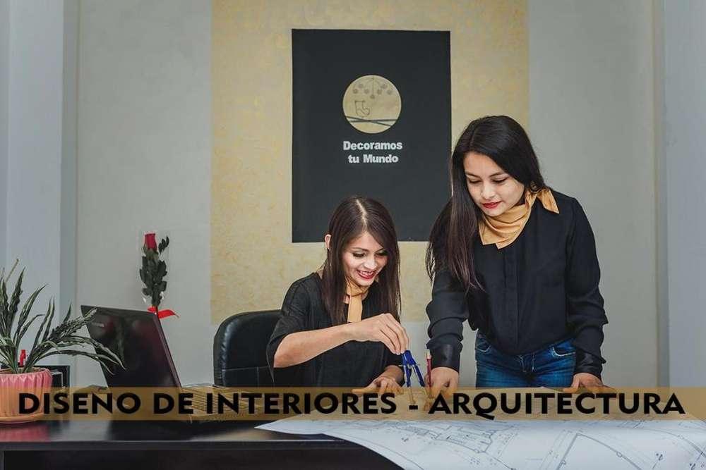 SERVICIO DE DISEÑO DE INTERIORES y ARQUITECTURA