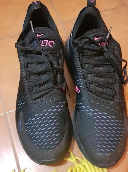 Zapatillas Nike Air Max 270 Black Nuevas Originales talle 45