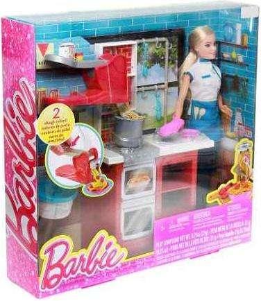 Chef De Pasta Barbie Marca Barbie Acu
