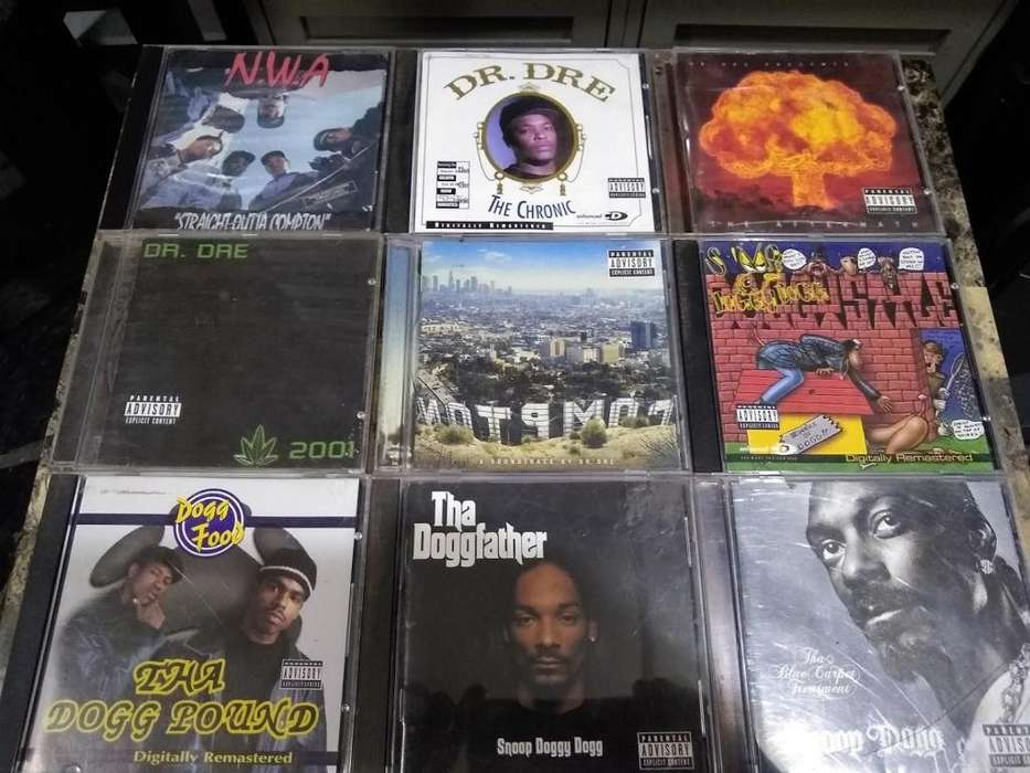 CDs originales de Rap