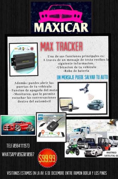 rastreo satelital gps bloqueador para auto o camion
