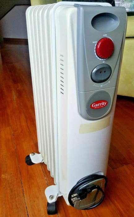 Calefactor / Calentador de Ambiente Interiores Eléctrico Garrity 1500 Watts con control automático de temperatura