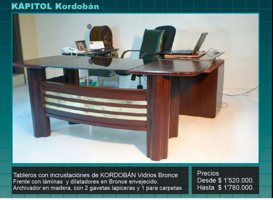 <strong>escritorio</strong>s de Madera para Oficinas