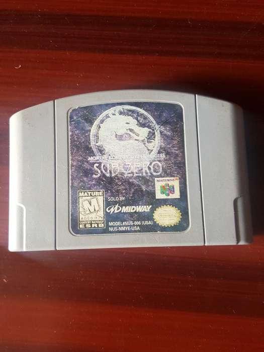 Juego N64 Mortal Kombat Subzero