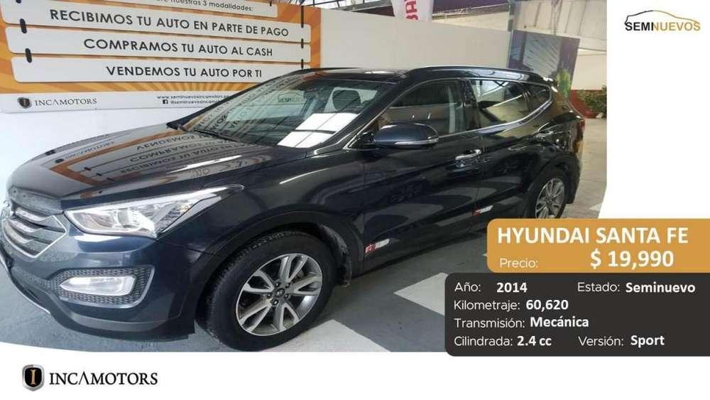 Hyundai Santa Fe 2014 - 60600 km