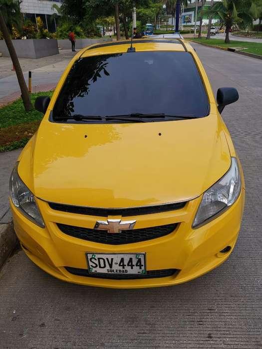 Vendo Taxi Chevrolet Sail Mod 2017