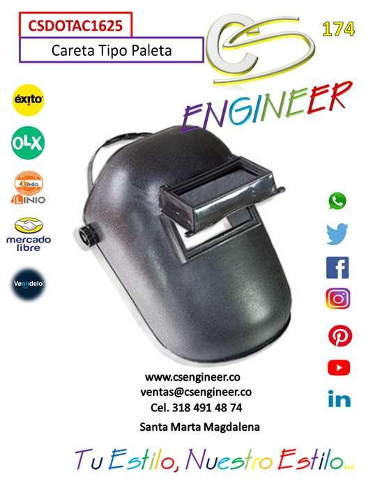 CS ENGINEER - Careta Tipo Paleta