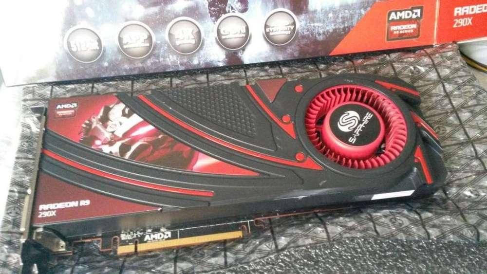Vendo Placa de Video Radeon r9 290x 4gb 512bit nueva!!