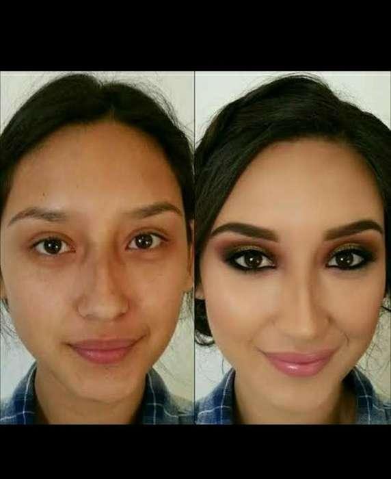Maquillaje Y Peinado a Domicilio