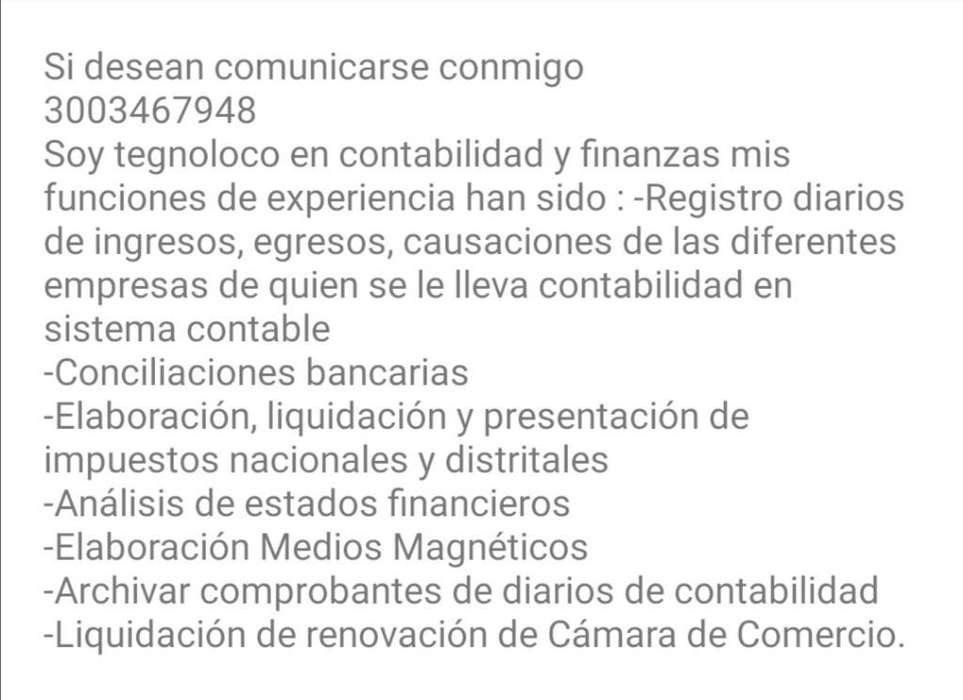 Busco Empleo - Cargo: Auxiliar Contable