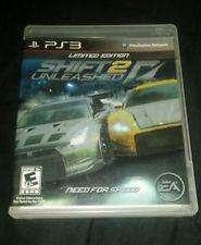 Need For Speed Shift 2 Limited Edition. play 3. recibo tarjetas. garantía ps3. usado