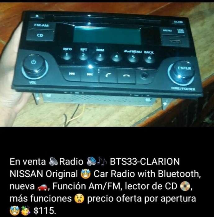 en Venta Radio Bts33-clarion Original