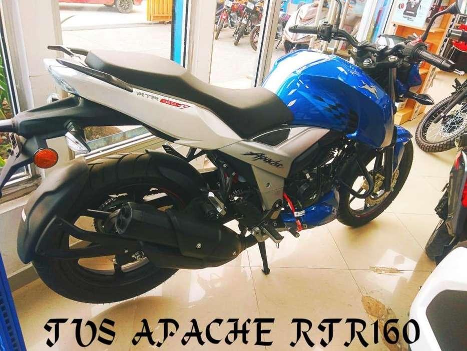 MOTO TVS APACHE RTR 160 OFERTA CHIMASA S.A.