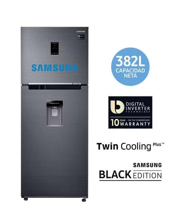 Refrigeradora Samsung 382 Lts.Touch Limi