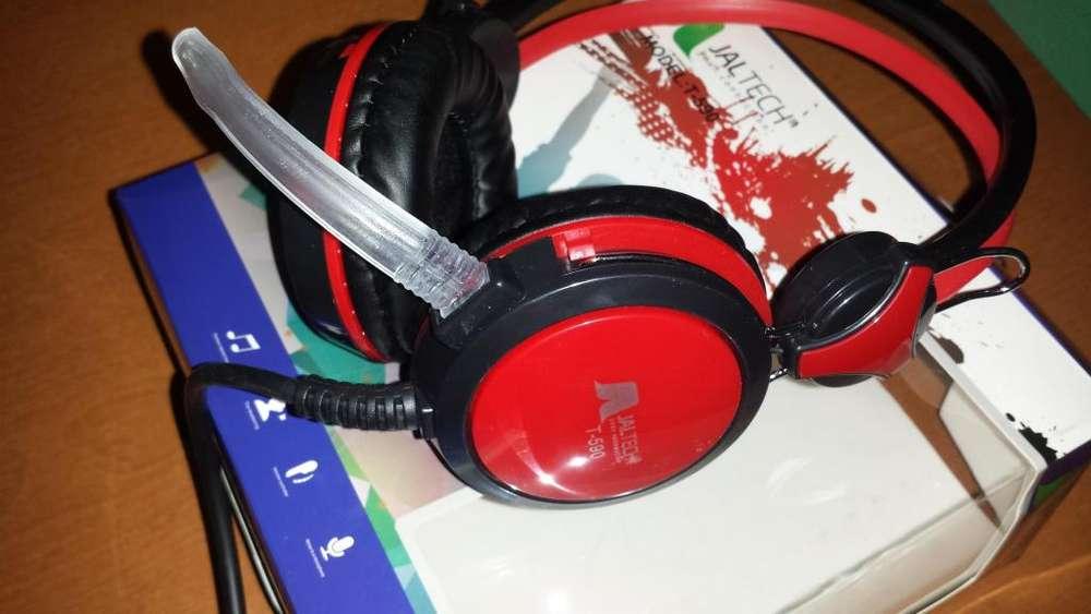 Diadema Audio Con Microfono Para Pc Alta Calidad