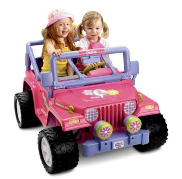 Jeep de Bateria Barbie