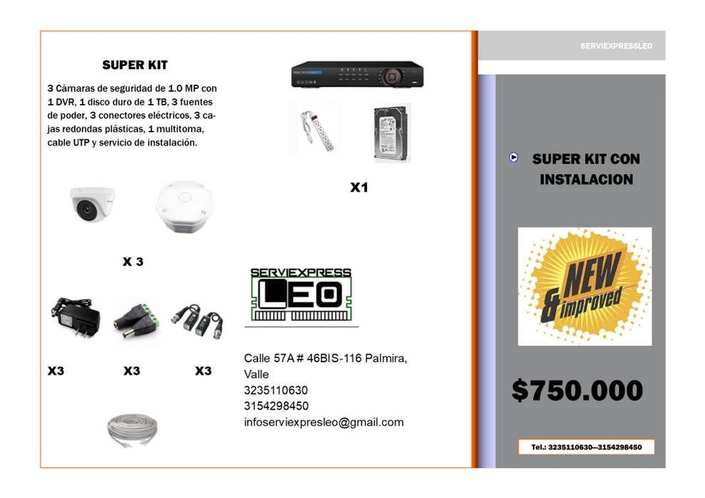 super kit con instalacion
