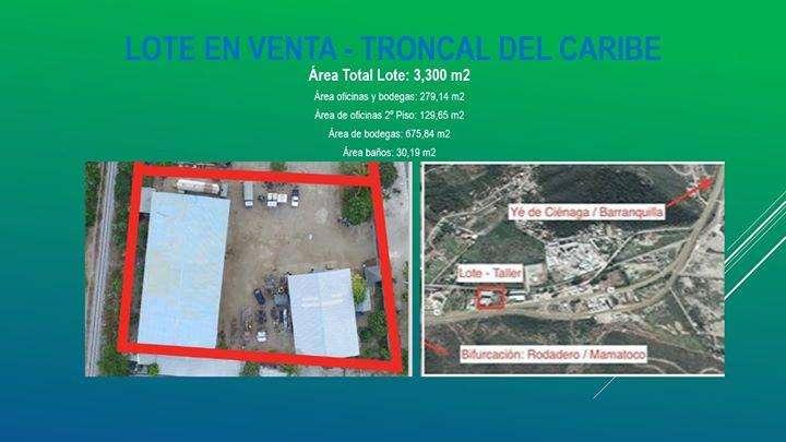 Bodega con oficinas y almacén - En Venta - Vía Troncal del Caribe
