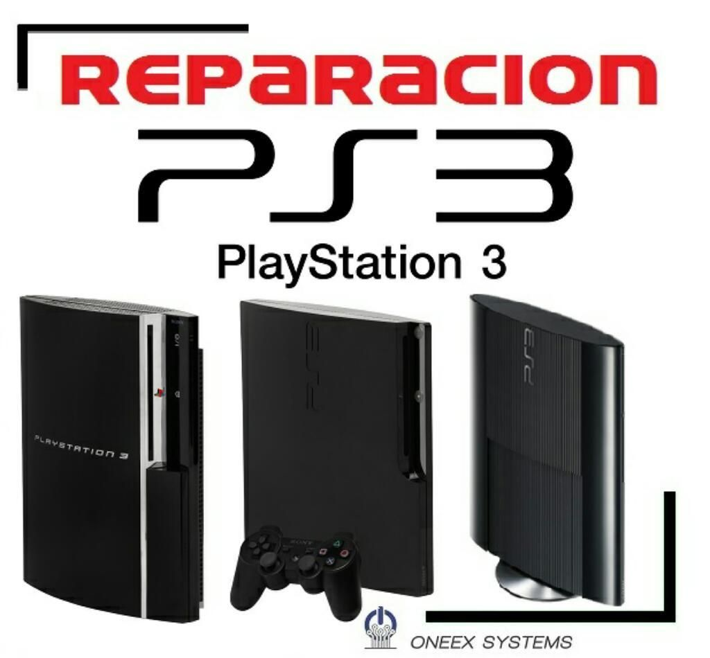 Reparacion de Playstation 3 Ps3