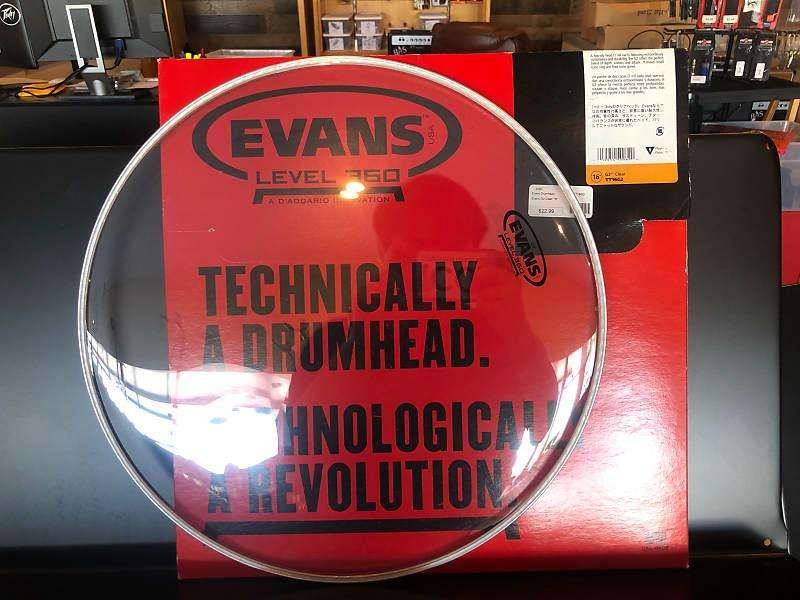 Parche Evans Hydraulics Glass De 14 Para Redoblante y Timbal Nuevo
