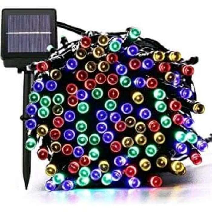 Luces Solares de Navidad, 72 Ft 200 Led