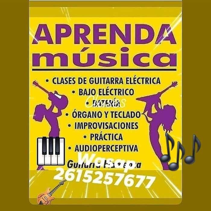 Clases de Guitarra bajo Organo Piano