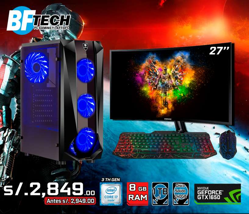 PC GAMING INTEL CORE I7 3TH GEN 20