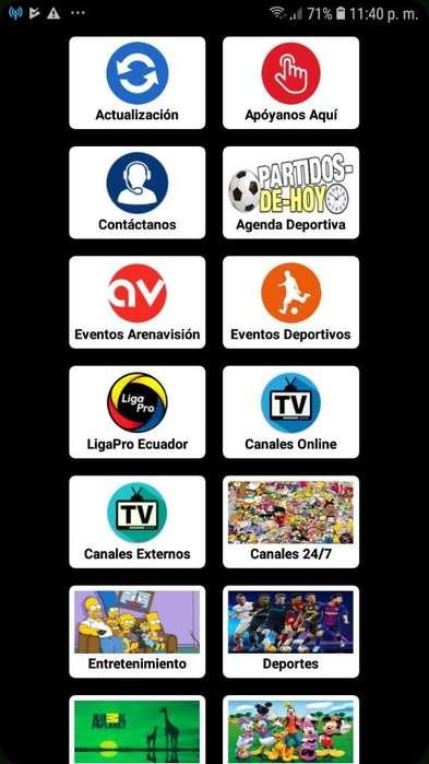 Instalador de Canale Y Desarrollo de App