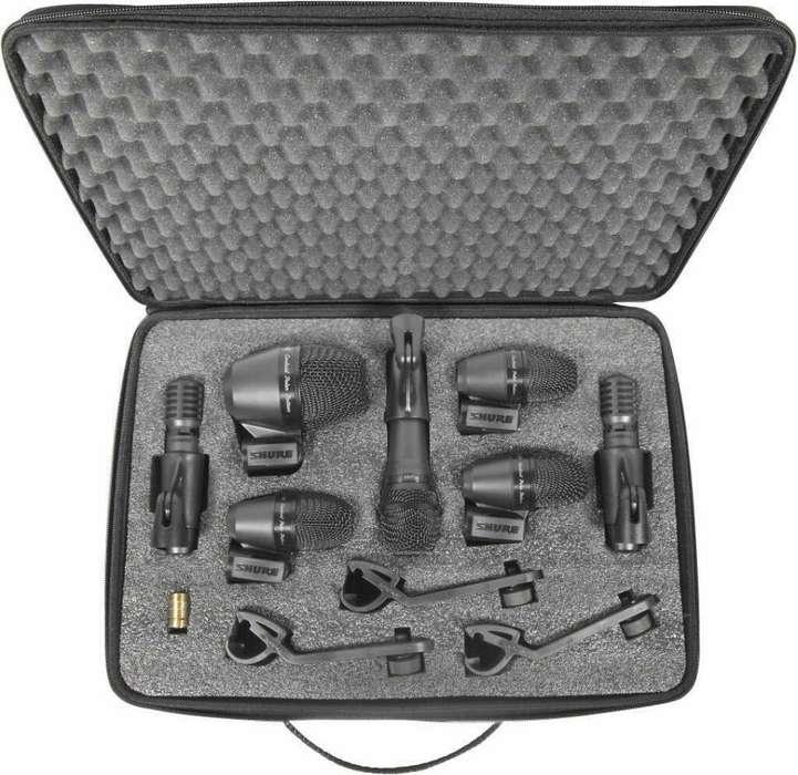 Kit de Micrófonos P/batería Shure Pga