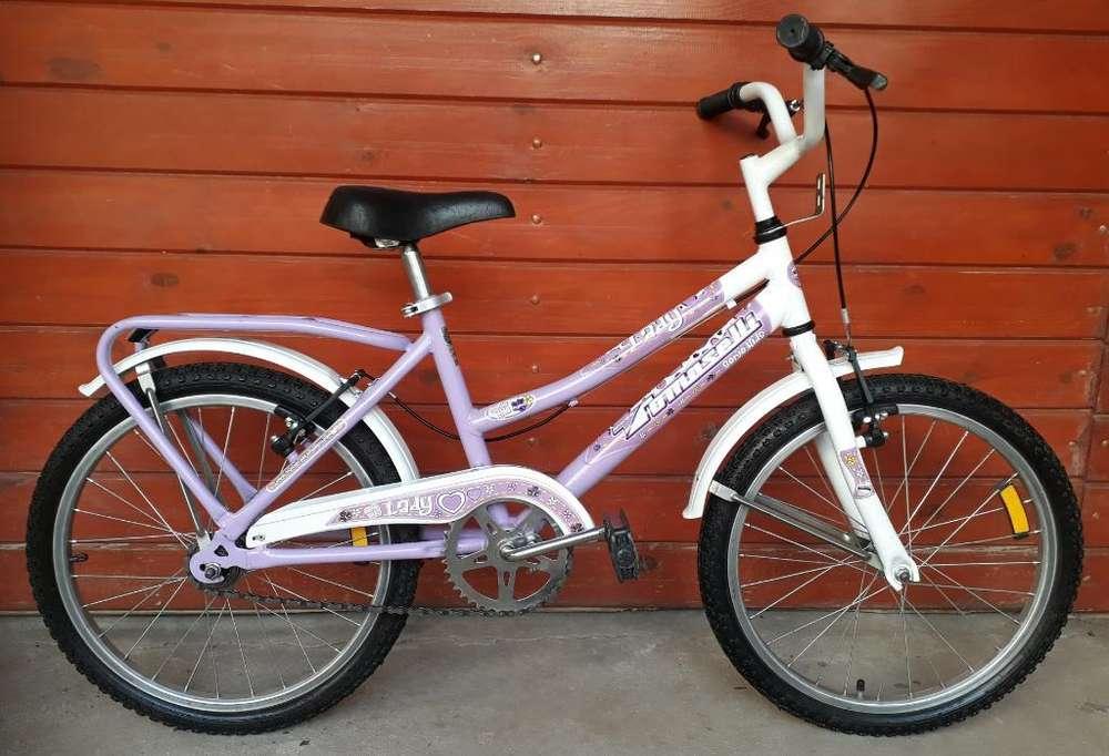 Bicicleta de Niña R20 Igual a Nueva Exc.
