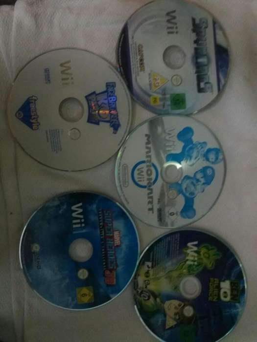 Juegos Nintendo Wii Y Volante