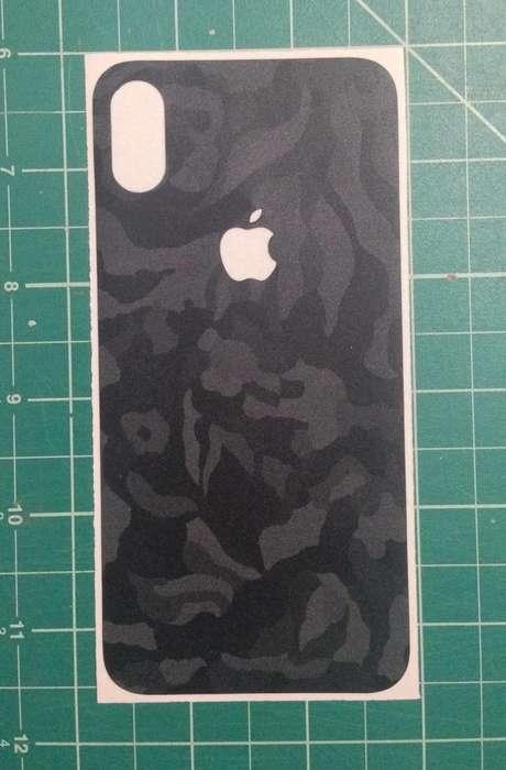 Mod para iPhone X Black Camo