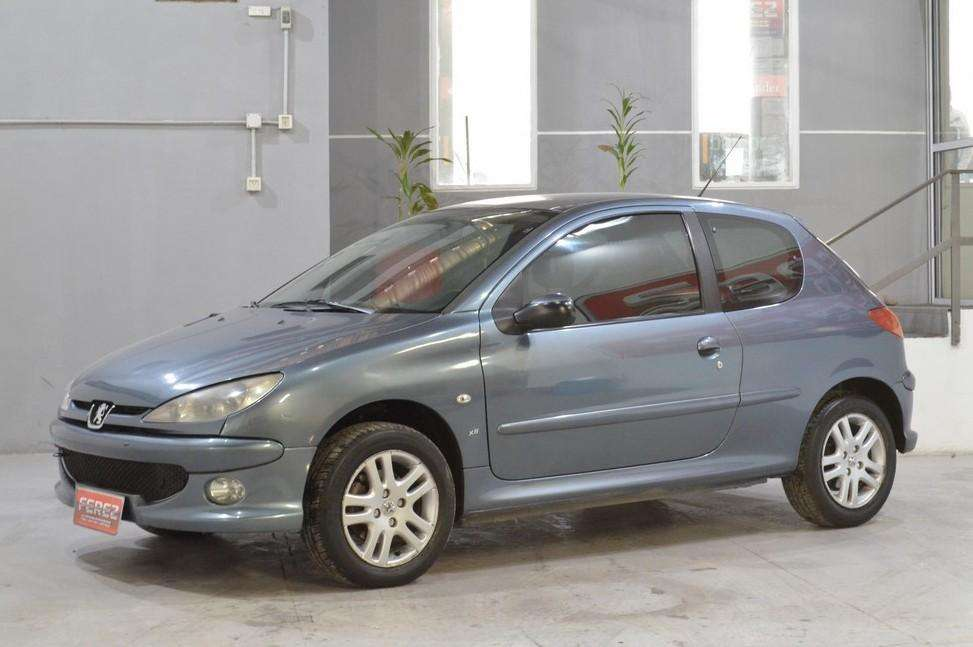 Peugeot 206 xs 1.6 nafta 2007 3 puertas color gris