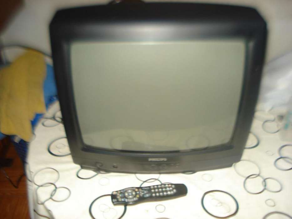 <strong>televisor</strong> Tv Color 20 Philips C/ctrl Rem 181canales Exc Imag