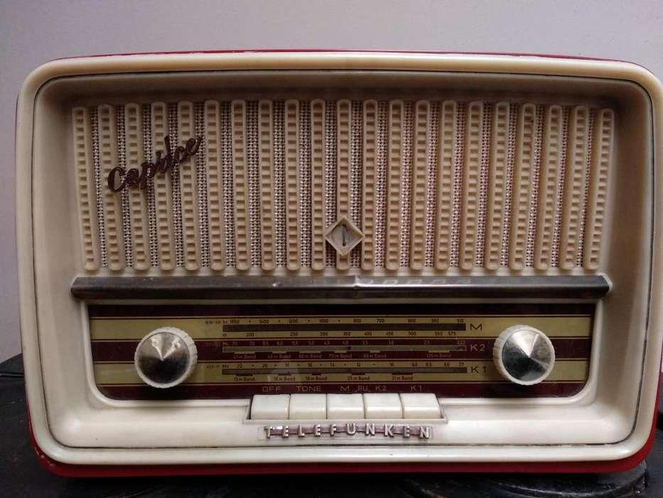 Radio Telefunken A Tubo Venta O Cambio