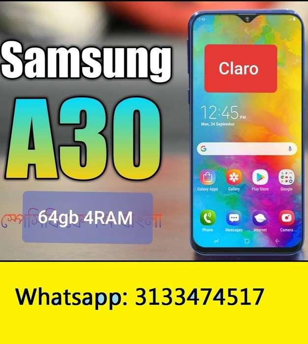 Samsung A30 64gb de Claro