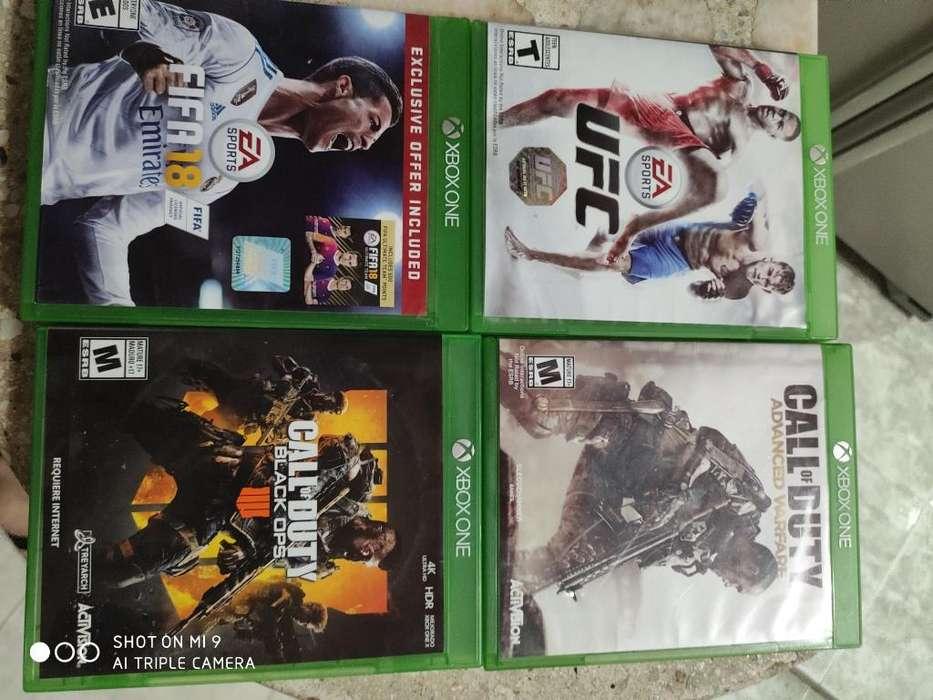 Juegos de Xbox One Excelente Estado