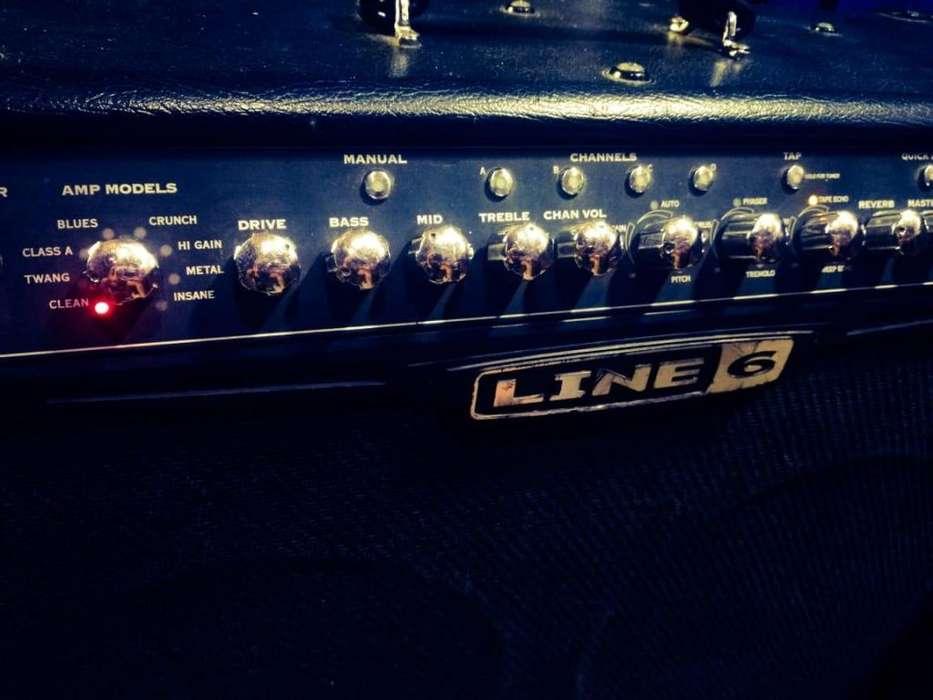 Line 6 Spider Iv Amplificador De Guitarra 150watts