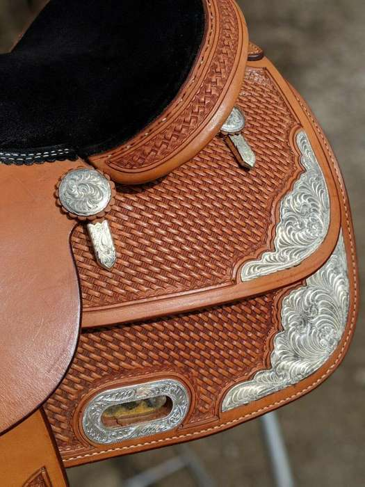 condition 16 in Billy cook performance reining Western show saddle.