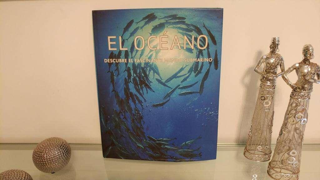 LIBRO EL OCEANO descubre el fascinante mundo submarino watsap 116-140-0746