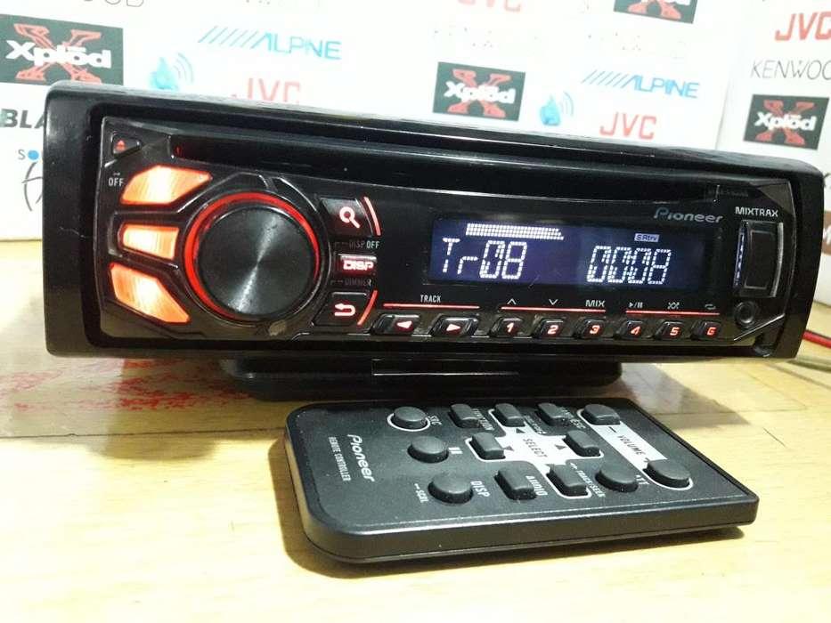 AUTORADIO PIONEER DEH-X1750UB MIXTRAX USB AUX CD/MP3 Y RADIO / No KENWOOD NO SONY NO ALPINE