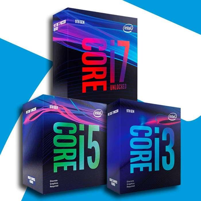 Acp - Procesador Intel I3 9400f ,i5 9100f ,i7 9900k 9na Gen