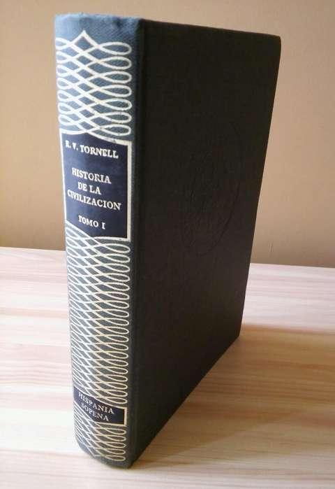 Libro Historia De La Civilizacion , Sopena , Tomo I