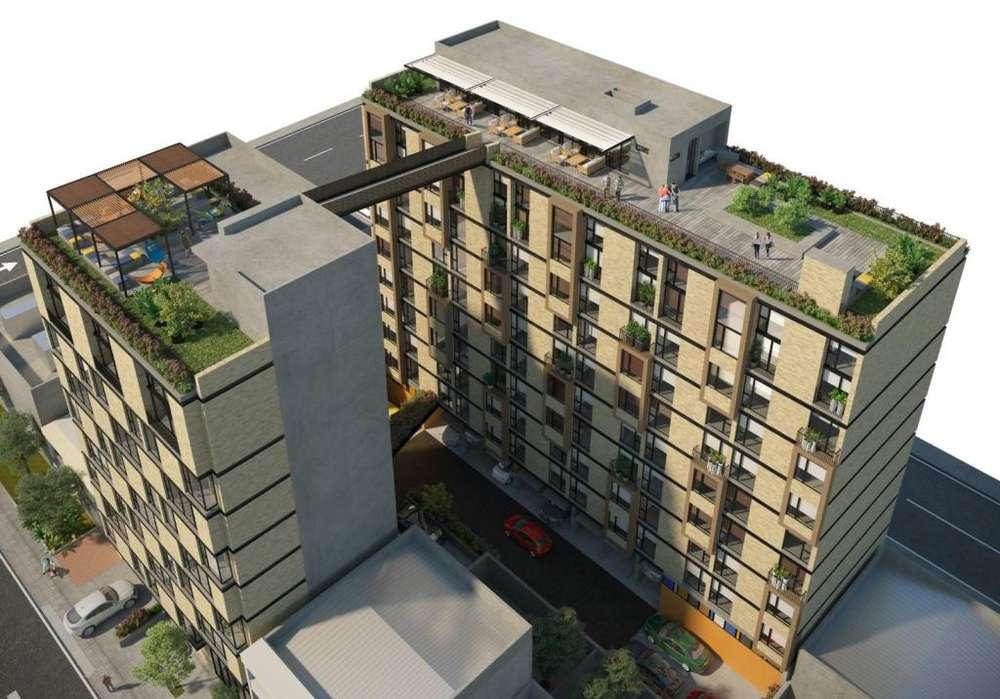 NOU 60, Apartaestudios y apartamentos de 2 alcobas, Chapinero