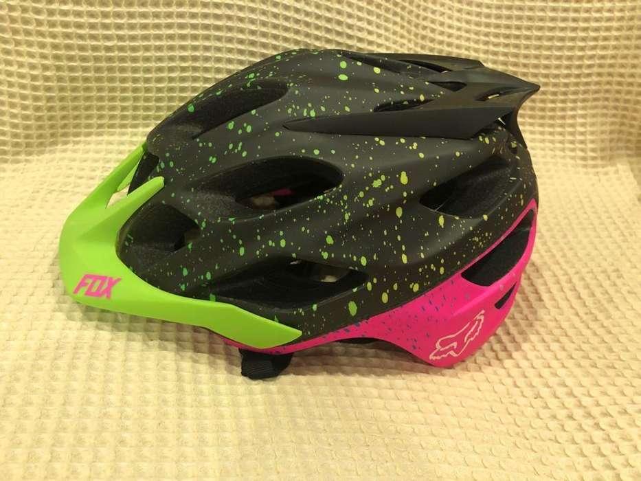 Casco para bicicleta FOX, Mujer, Nuevo, Original, Ajustable, Talla L-XL